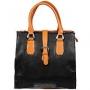 """Сумка женская """"Leigthon"""", цвет: коричневый, черный. 53439-1790/2053"""