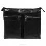 "Сумка мужская ""Edmins"", цвет: черный. 1312 B-1 GL black"