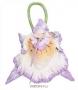 """Рюкзачок """"Орхидея"""". Валяная шерсть, волокна шёлка. Авторская работа"""