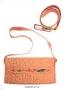 Комплект из ремня и сумки (Кожа, вышивка, металл) Авторская работа