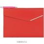Папка с шариковой ручкой, цвет: красный
